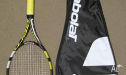 This racquet would have been used for about 10 hours of
