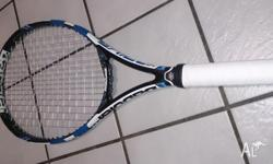 The latest model, Babolat Pure Drive 2015 (300 g)