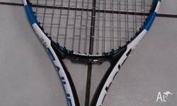 The latest Babolat Pure Drive Team racquet, 2015 model