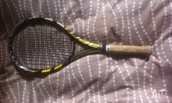 Great tennis racquet up for sale been used for 2 years