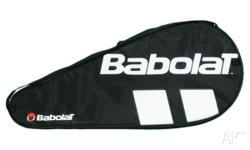 Babolat Tennis Racquet cover for $10 each. I have 8