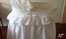 Baby bassinet for Sale I do not have the cover for the