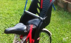for sale a bicycle child carrier, i am selling this as