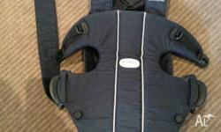 Black baby Bjorn baby carrier. Great condition with no