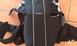 Baby Bjorn Baby Carrier with back support. Excellent