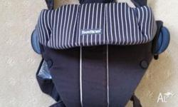 Baby Bjorn Original Carrier for sale. Basic style, very