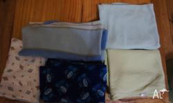Baby Boy Blankets All in fantastic used condition $5,