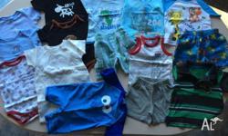 Selling this pre loved bundle of clothing for baby boy