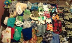 Baby boy clothes for sale, in very good condition, few