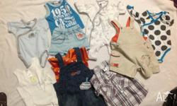 I have a lots of Boys Baby clothing to sell. This set