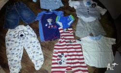 baby boys clothes 10 items some brand new with tags