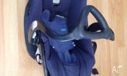 To be used as car seat. It enables to remove your baby