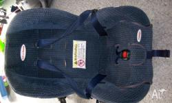 safe and sound car seat, comes with baby insert,