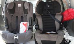 2 Baby Car Seats on offer. Safe and Sound for toddlers