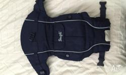 Snugli baby carrier. Some wear & tear (as shown in