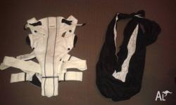 Baby carrier and baby sling for sale. Both excellent