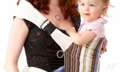 I am selling a Mei Hip baby carrier, because my baby is