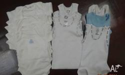 baby clothes set -brand new never used 5 x Tops - 2 x