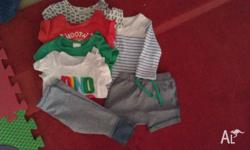 000 - Boy Bundle - $10 Smoke free home - No stains -