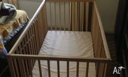 hi, I have a baby cot with mattress which has never