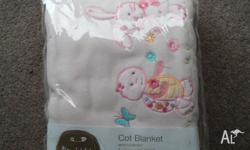I have 3 of these baby cot blankets. I brought them for