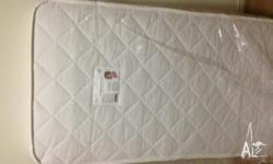 Baby Cot Spring Mattress; 690 X 1300 X 125 mm is