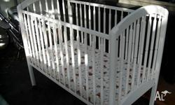 Very good condition baby cot used only occasionaly for