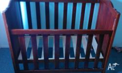 Baby Cot with mattress, in very good condition hardly