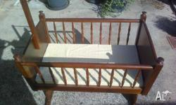 Baby cradle in good condition and well looked after.