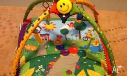 Baby Einstein caterpillar and friends play baby mat and