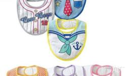 Feeding bibs for boys and girls. Suitable for babies