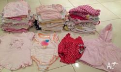 HUGE Baby girl clothes bundle from newborn - 3/6months.