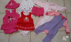 Baby girls clothing size 0 in excellent condition. Some
