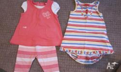 000 Sprouts dress with leggins 3 mths Esprit Dress All
