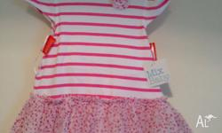 Mix baby brand 2pc set (tutu dress + matching nappy