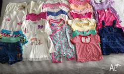 Girls Clothes Size 0 - 28 items All in good clean
