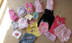 Baby Girls size 0 clothes. (26 pieces) Baby Girls