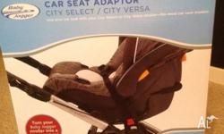 The Baby Jogger Car Seat Adapters allow you to turn