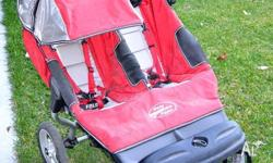 Baby Jogger City DOUBLE/TWIN stroller, 3.5 yrs old,