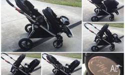Baby Jogger City Select with second seat and one snack