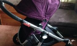 Baby Jogger City Select in Amethyst colour Excellent