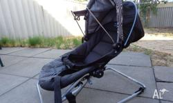 Baby rocker that has a cover Adjustable positions A