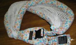Baby Rock Sling As new condition. Cotton netting/mesh