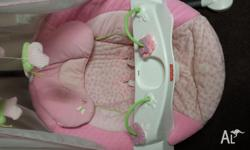 Great condition baby swing. Can be used in 3 different