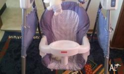Baby Power plus swing - Fisher -Price Excellent
