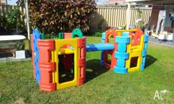 Pacific brand (Feber) outdoor plastic playgym and