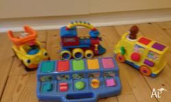 Bundle of baby toys (toys in both photos included in