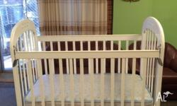 "Selling a Mamas & Papas White Ivory ""Amelia"" Cot and"