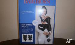 Babybjorn Miracle Baby Carrier-New in box Soft cotton
