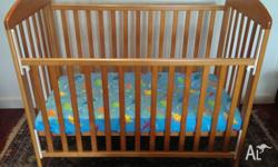 This cot has been great for us. It is a small cot that